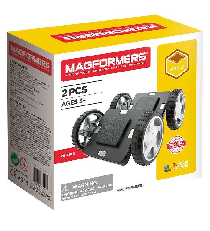 Image of Magformers Wheels Sæt - 2 dele (XA318)