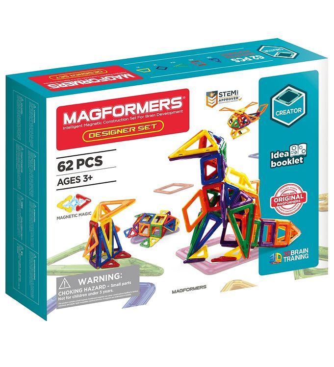 Image of Magformers Designer Sæt - 62 dele (XA321)