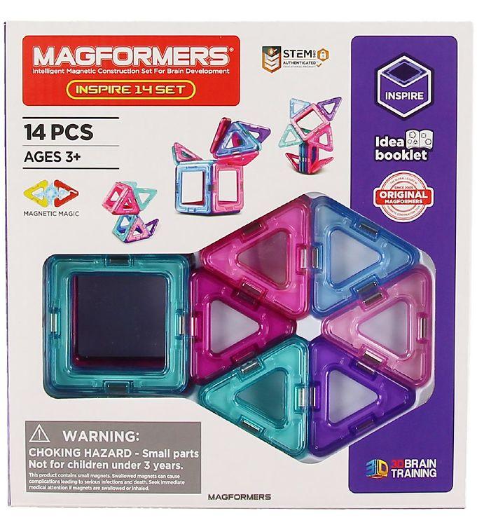 Image of Magformers Inspire Sæt - 14 dele (XA326)