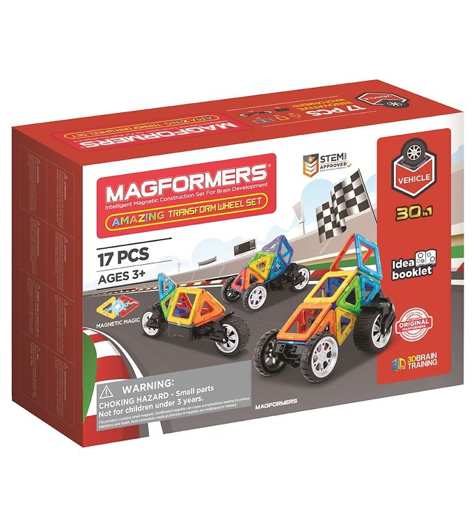 Image of Magformers Amazing Transform Wheel Sæt - 17 dele (XA330)