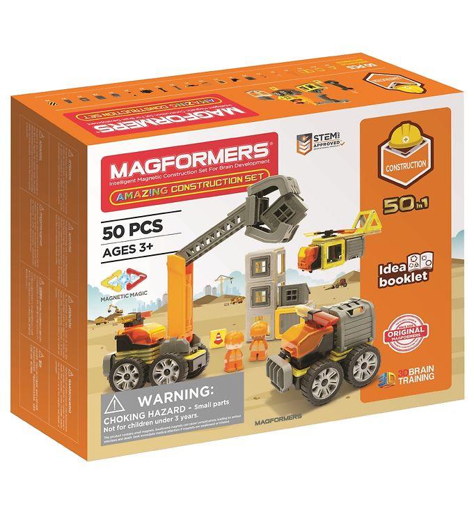 Image of Magformers Amazing Konstruktion Sæt - 50 dele (XA331)