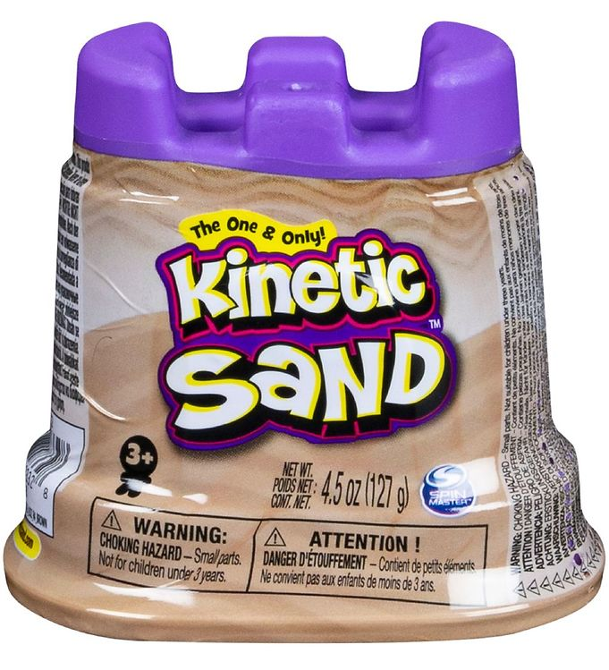 Kinetic Sand Strandsand - 127 gram - Brown