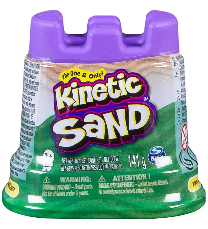 Kinetic Sand Strandsand - 127 gram - Green