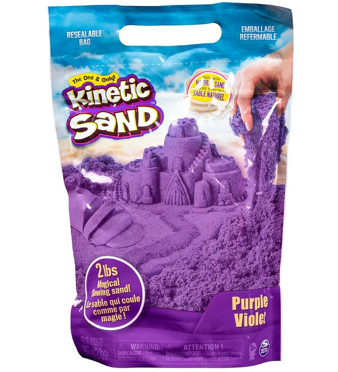 Kinetic Sand Strandsand - 900 gram - Purple Violet