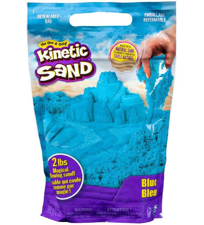 Image of Kinetic Sand Strandsand - 900 gram - Blue (XA384)