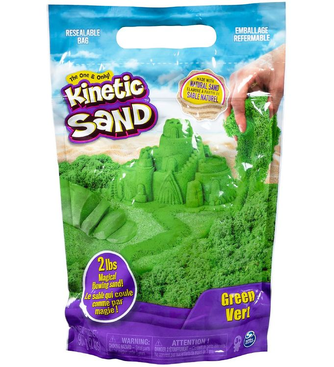 Kinetic Sand Strandsand - 900 gram - Green