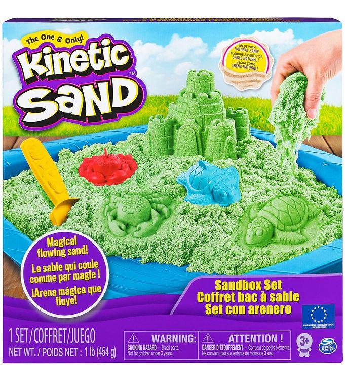 Image of Kinetic Sand Sandsæt - 454 gram - Green (XA386)
