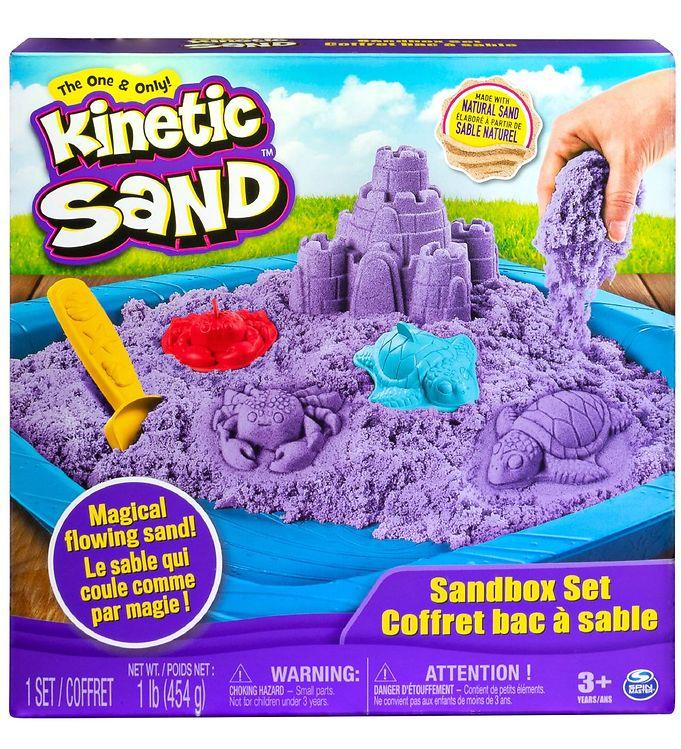 Image of Kinetic Sand Sandsæt - 454 gram - Purple Violet (XA387)