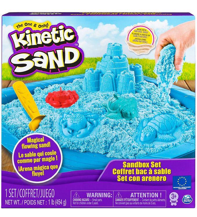 Image of Kinetic Sand Sandsæt - 454 gram - Blue (XA388)