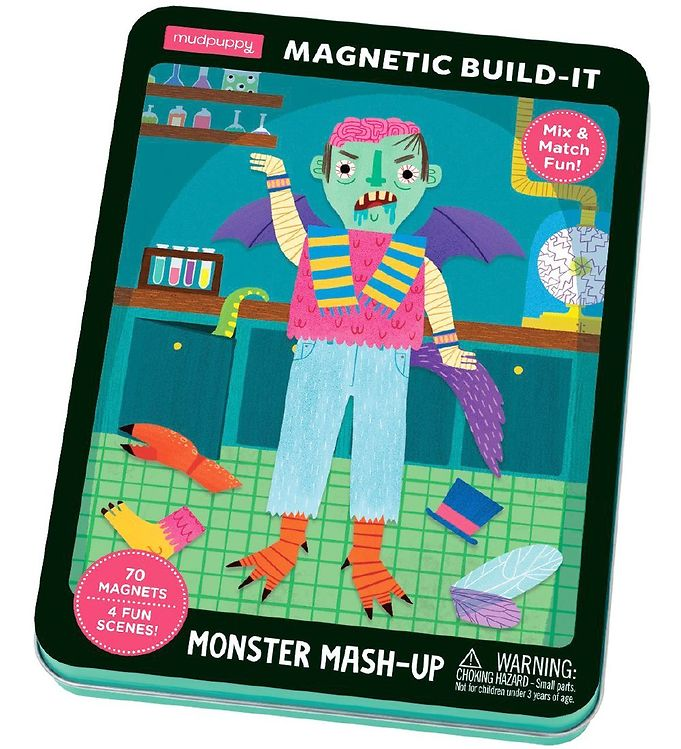 Image of Mudpuppy Magnetfigurer - Build It - Monster Mash-Up (XA392)