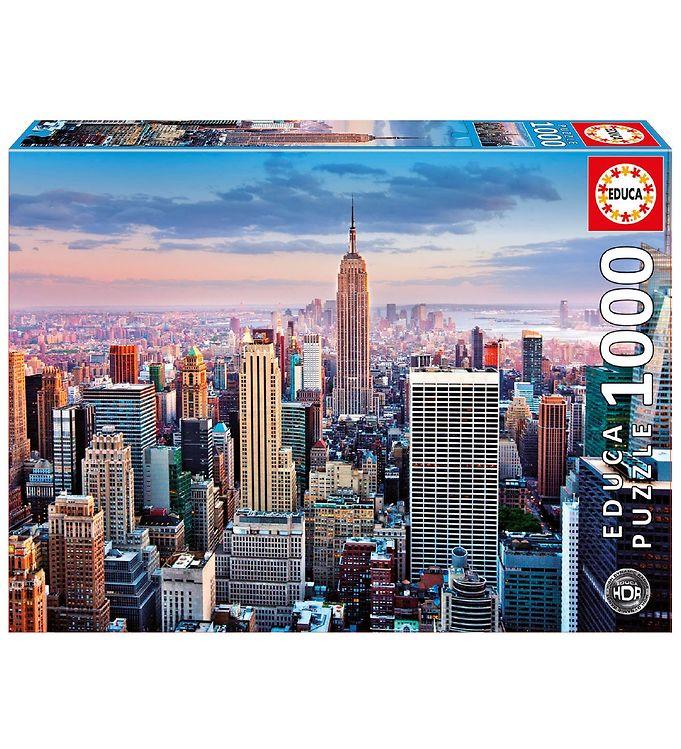 Image of Educa Puslespil - 1000 Brikker - Midtown Manhattan - New York (XA462)