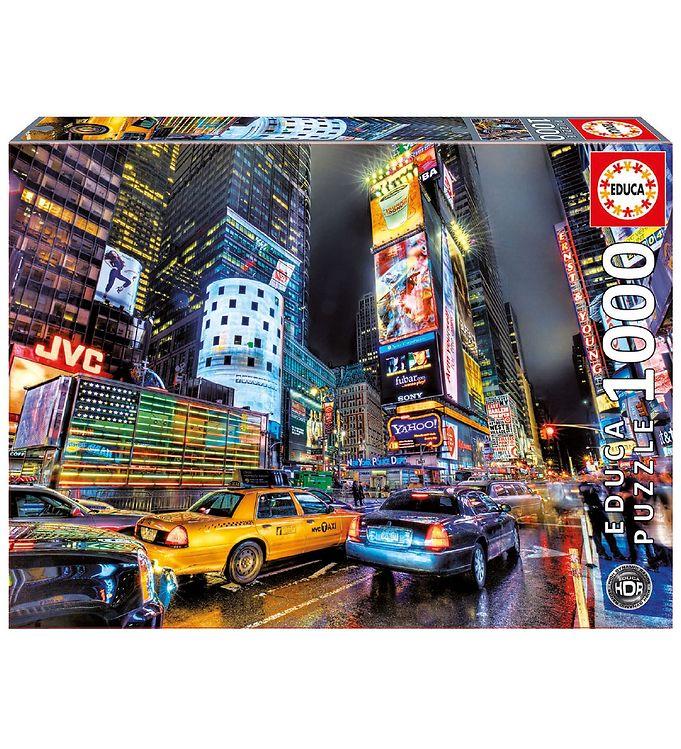 Image of Educa Puslespil - 1000 Brikker - Time Square - New York (XA515)