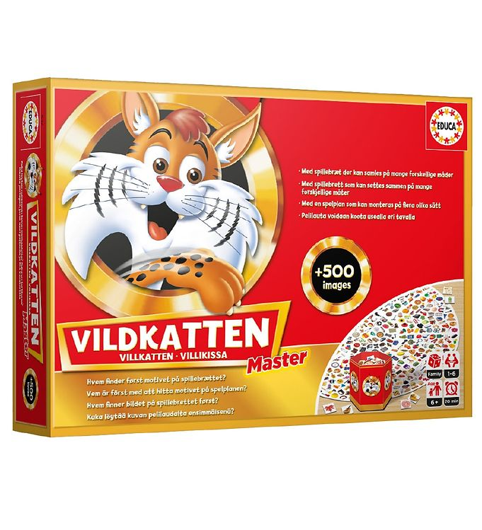 Image of Educa Brætspil - Vildkatten Master (XA519)