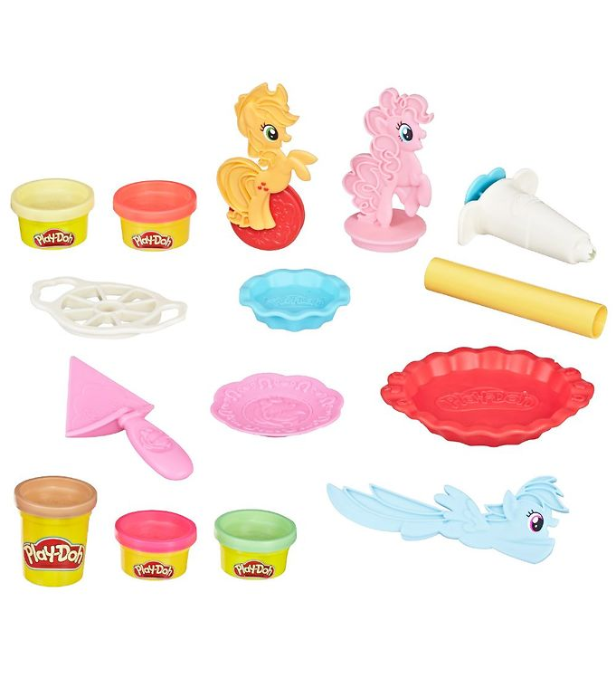 Image of Play-Doh Modellervoks - My Little Pony - 168 g - Ponyville Tærte (XA564)