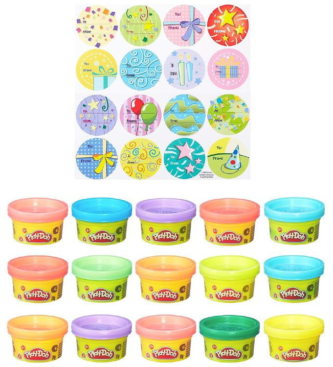 Image of Play-Doh Modellervoks - Party Bag - 420 g - 15 stk (XA609)