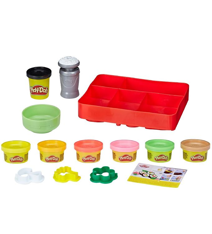 Image of Play-Doh Modellervoks - Kitchen Creations - Sushi (XA616)