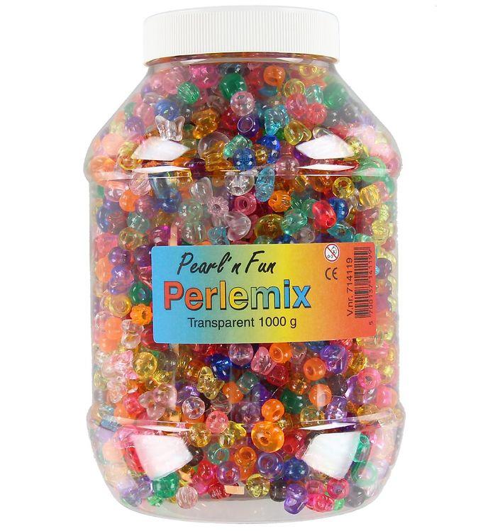Image of Pearl'n Fun Perler - 1000 gram - Transparent (XA634)