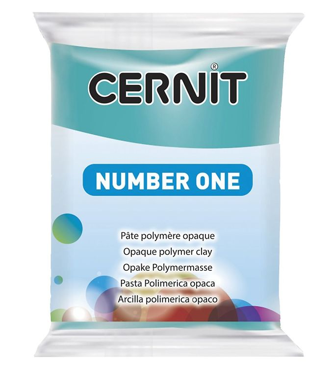 Image of Cernit Polymer Ler - Number One - Turkis (XA640)