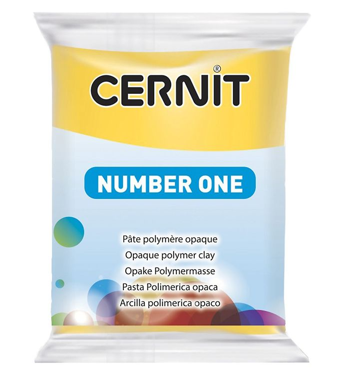 Image of Cernit Polymer Ler - Number One - Gul (XA649)