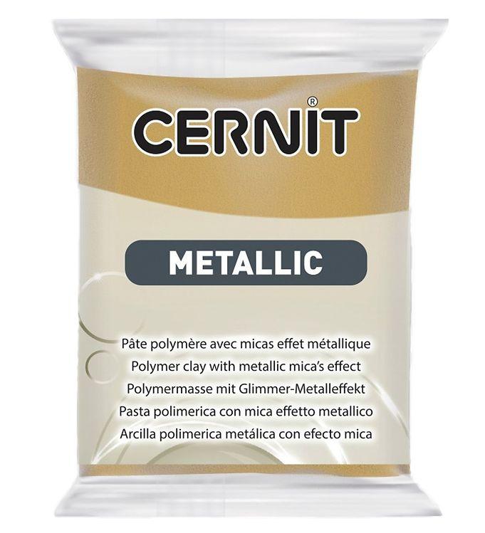 Image of Cernit Polymer Ler - Metallic - Mørk Guld (XA656)