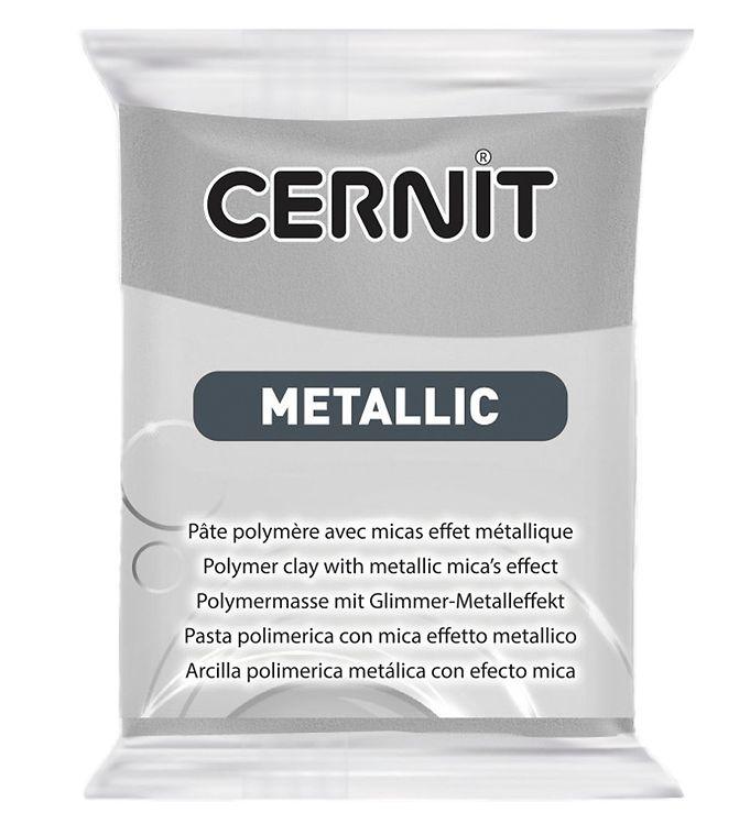 Image of Cernit Polymer Ler - Metallic - Sølv (XA658)