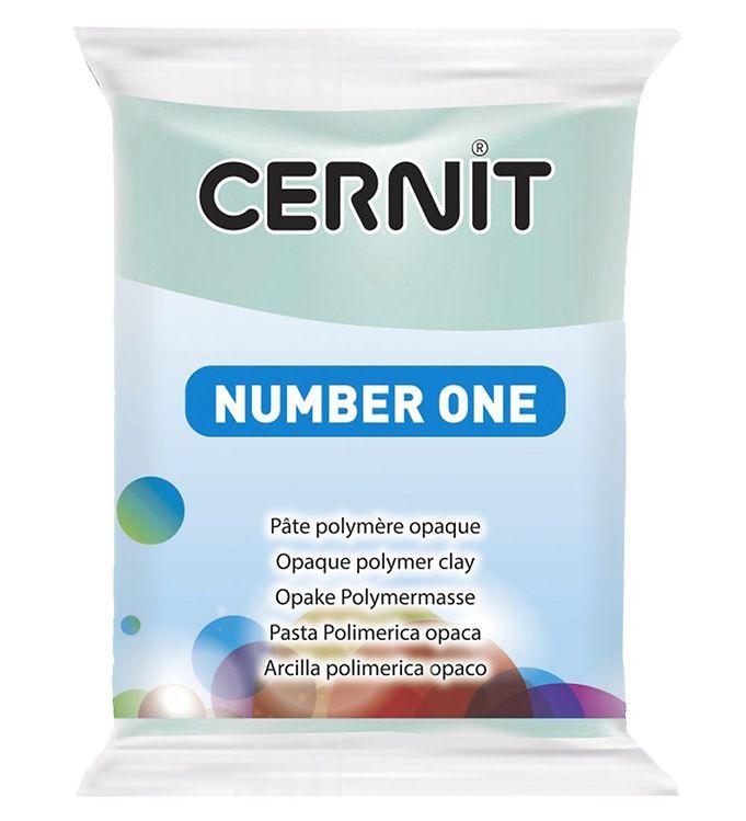 Image of Cernit Polymer Ler - Number One - Mintgrøn (XA659)