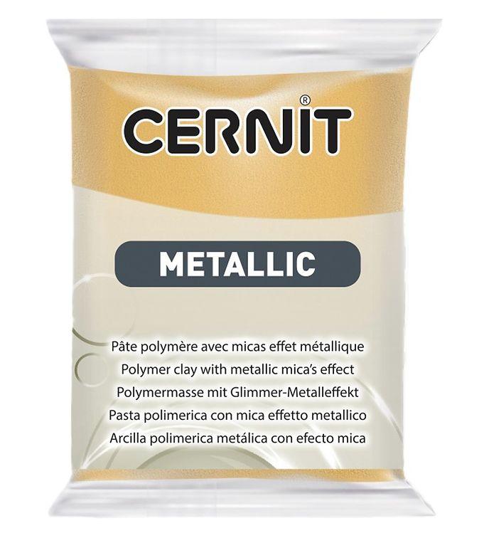 Image of Cernit Polymer Ler - Metallic - Guld (XA666)