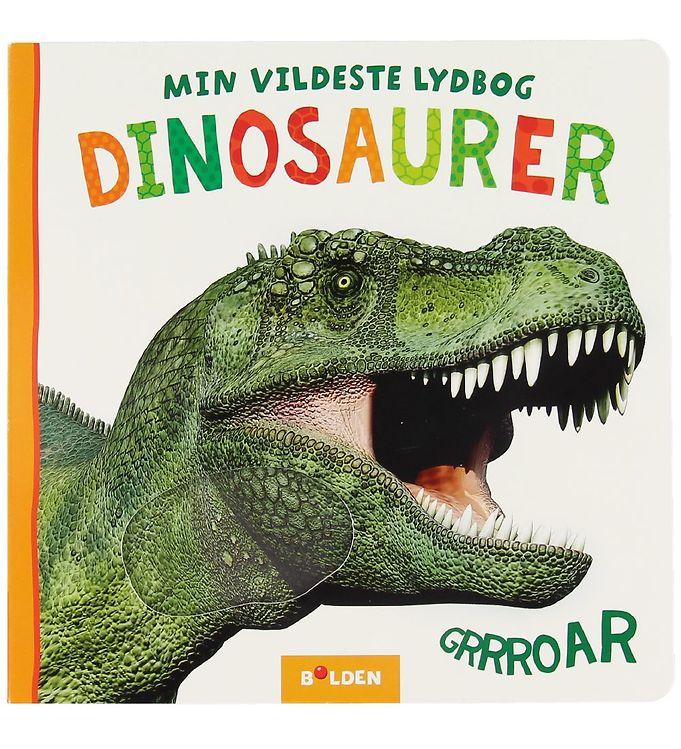 Image of Forlaget Bolden Bog m. Lyd - Min Vildeste Lydbog: Dinosaurer (XA715)