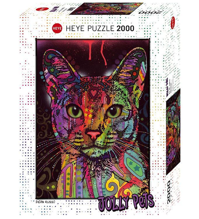 Image of Heye Puzzle Puslespil - Abyssinian - 2000 Brikker (XA759)