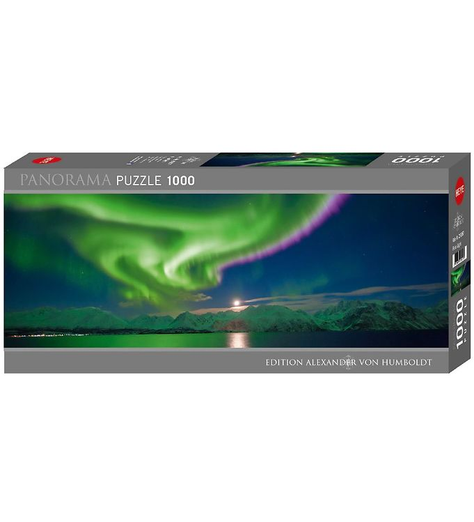 Image of Heye Puzzle Puslespil - Panorama - Polar Light - 1000 Brikker (XA764)