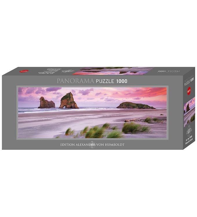 Image of Heye Puzzle Puslespil - Panorama - Wharariki Beach - 1000 Brikke (XA767)
