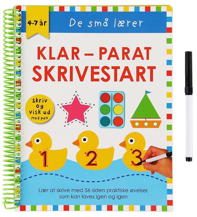 Image of Alvilda Aktivitetsbog - De Små Lærer - Skriv og Visk ud - Klar-P (XA771)