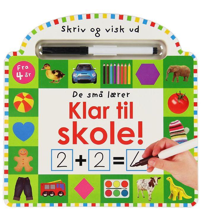 Image of Alvilda Aktivitetsbog - De Små Lærer - Skriv og Visk ud - Klar t (XA773)