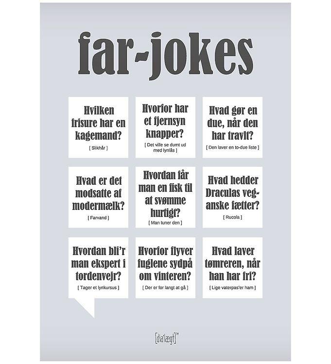 Image of Dialægt Plakat - 50x70 - Far-Jokes (XA993)