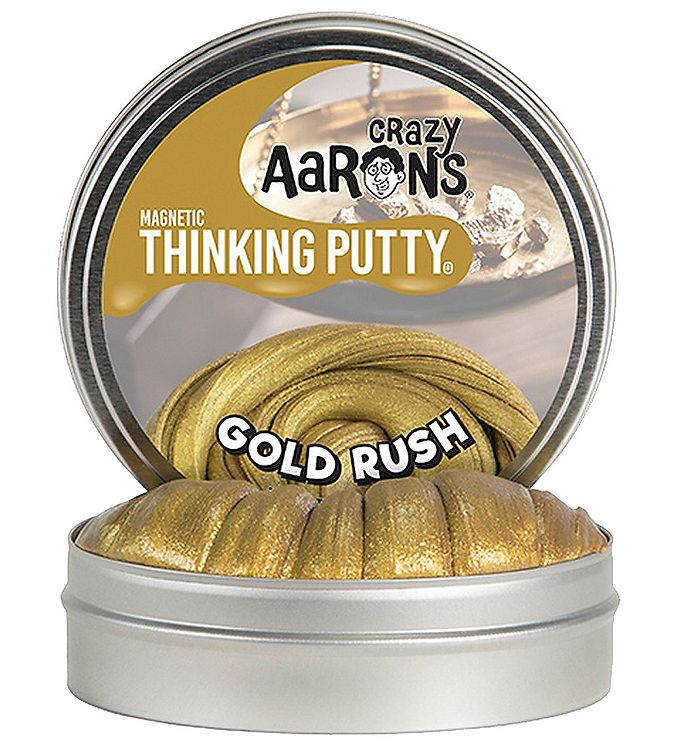 Image of Crazy Aarons Putty Slim - Ø 10 cm - Magnetic - Gold Rush (XB011)