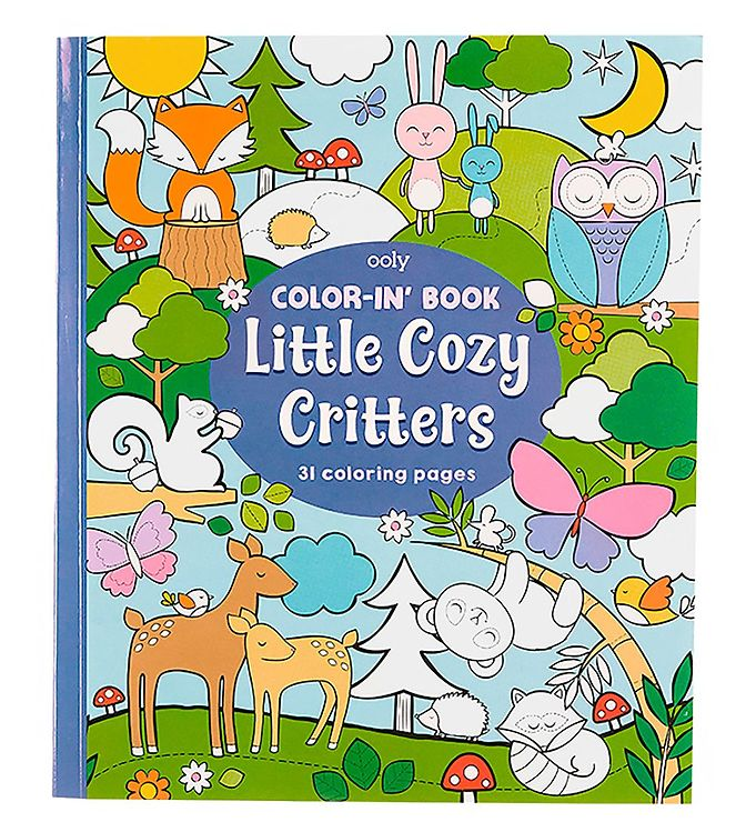 Image of Ooly Malebog - Little Cozy Critters (XB041)