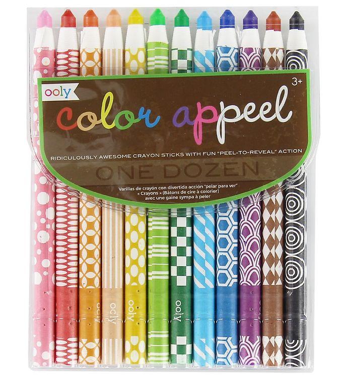 Image of Ooly Farvekridt - Color Appeel - 12 stk (XB044)
