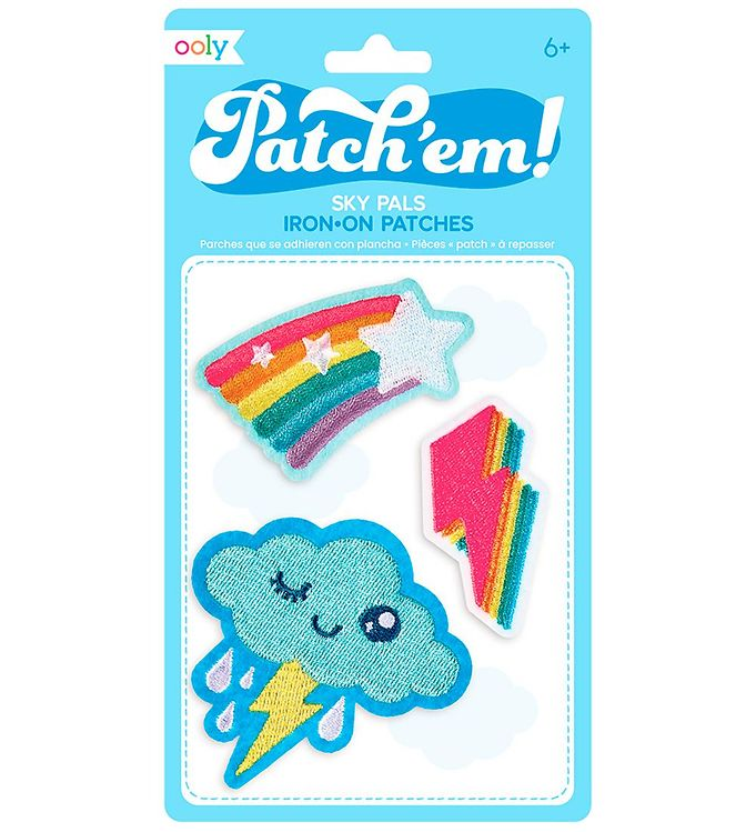 Image of   Ooly Patches - 3-pak - Sky Pals