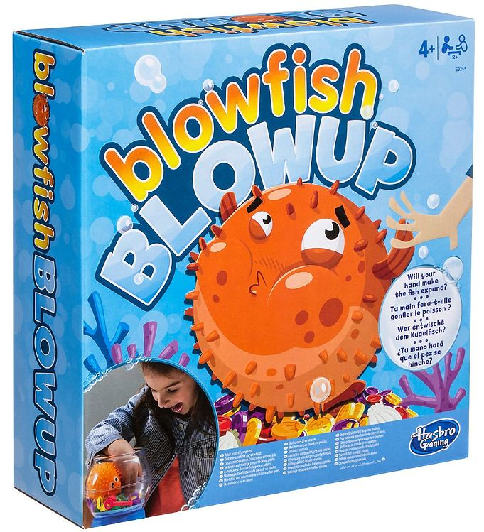 Image of Hasbro Spil - Blowfish Blowup (XB114)