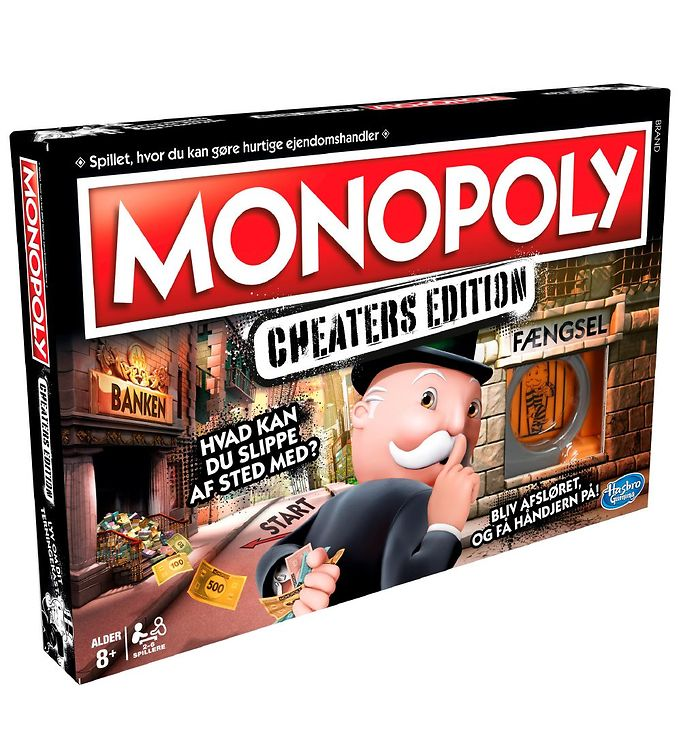 Image of Hasbro Brætspil - Monopoly Cheaters Edition (XB134)