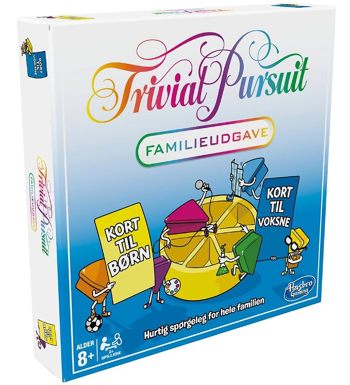 Image of Hasbro Brætspil - Trivial Pursuit Familieudgave (XB135)