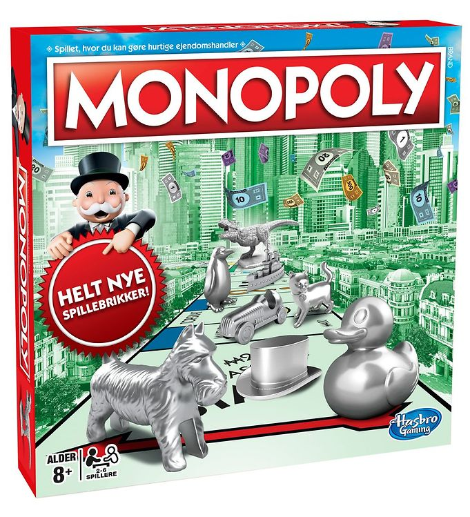 Image of Hasbro Brætspil - Monopoly Classic (XB153)