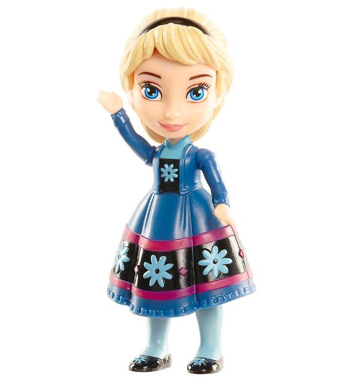 Image of Disney Frozen II Dukke - Mini - 9 cm - Elsa (XB157)