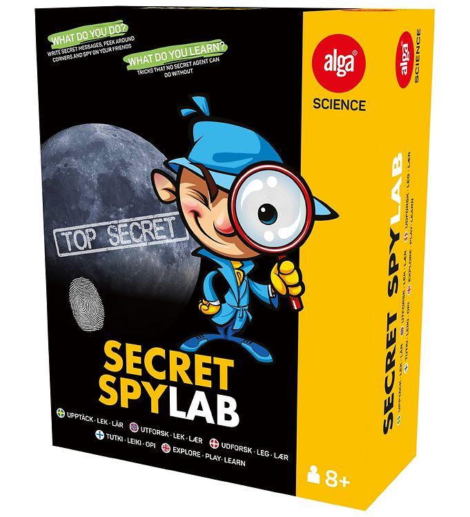 Image of Alga Science - Secret Spy Lab (XB443)