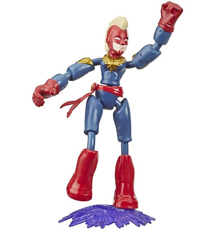 Image of Marvel Avengers Actionfigur - Bend & Flex - 15 cm - Captain Marv (XB453)