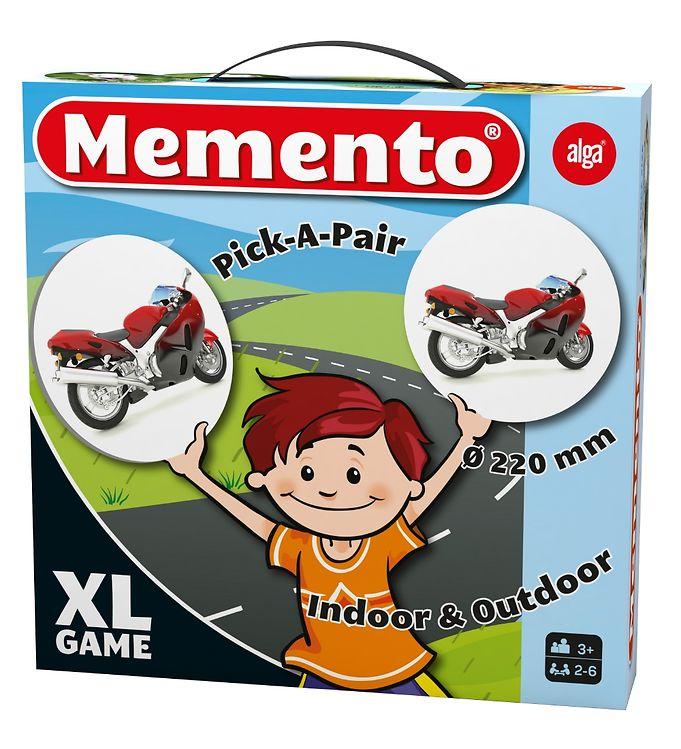 Image of Alga Spil - Memento XL - Køretøjer (XB457)
