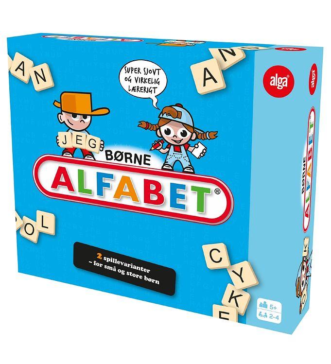Image of Alga Spil - Børne Alfabet (XB500)