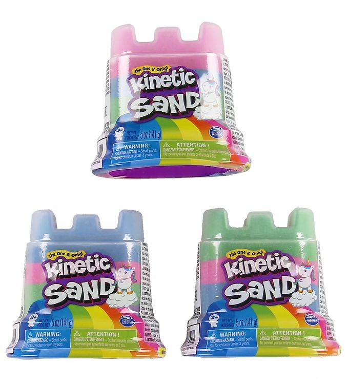 Kinetic Sand Regnbue - 141 gram - Assorteret
