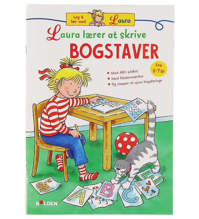 Image of Forlaget Bolden Aktivitetsbog - Laura Lærer at Skrive - Bogstav (XB583)