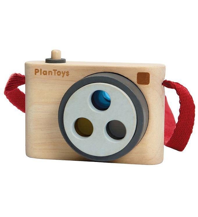 PlanToys Kamera - Natur - PlanToys Legetøj,PlanToys Trælegetøj - PlanToys